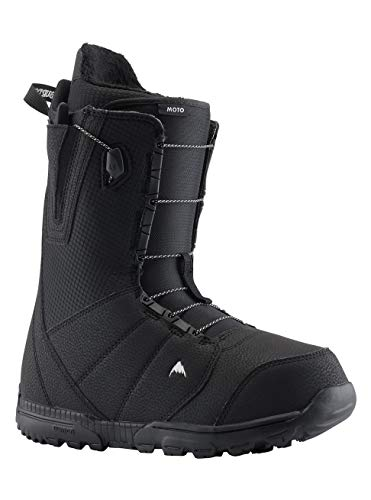 Bottes de snowboard noires Burton Moto,...