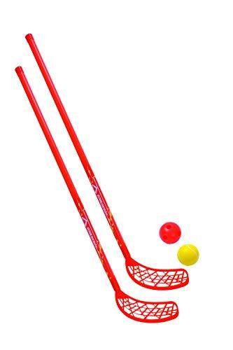 Jeu de hockey, 2 bâtons de hockey et 2...