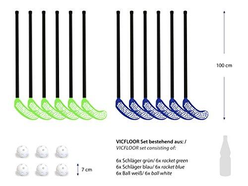 VICFLOOR - Bâton de hockey sur gazon