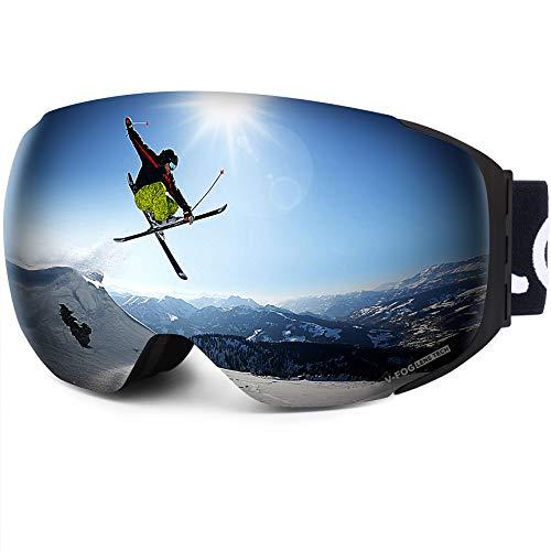 Lunettes de ski LEMEGO, Lunettes pour...