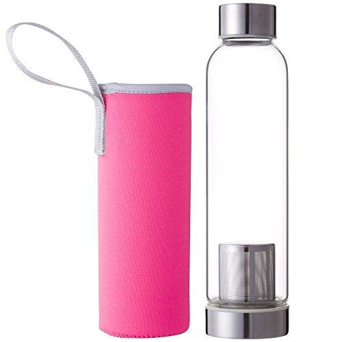 Bouteille en verre portable Hosaire avec...